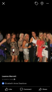 Me at 18 on a hen weekend in Benidorm
